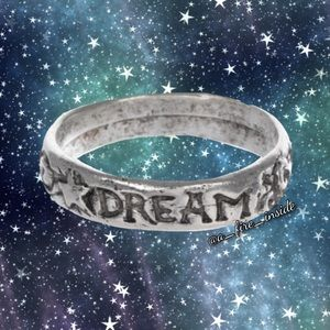 Dream Sterling Silver Plated Ring - Size 8